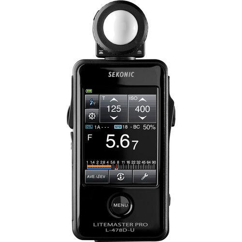 Fotômetro Medidor de Luz Sekonic LiteMaster Pro L-478D-U Light Meter