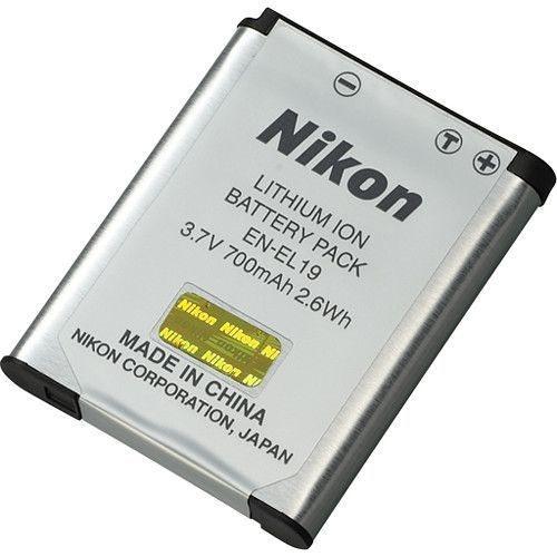 Bateria Nikon EN-EL19 para câmeras Nikon COOLPIX S32 / S5300 / S3400 / S3500 / S4300