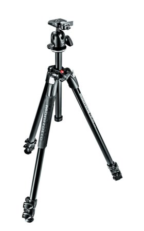 Tripé Manfrotto 290 Xtra com Cabeça Manfrotto 496 RC2 Kit MK290XTA3-BH