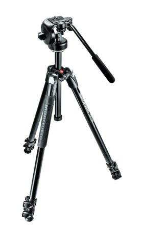 Tripé Manfrotto 290 Xtra com Cabeça Manfrotto 128 RC Kit MK290XTA3-2W
