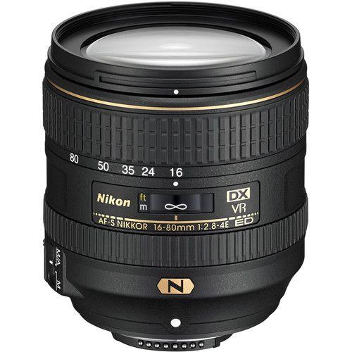 Lente Nikon AF-S DX NIKKOR 16-80mm f/2.8-4E ED VR