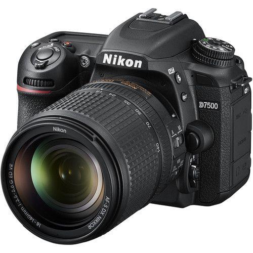 Câmera Nikon D7500 Kit com Lente Nikon AF-S 18-140mm f/3.5-5.6G VR