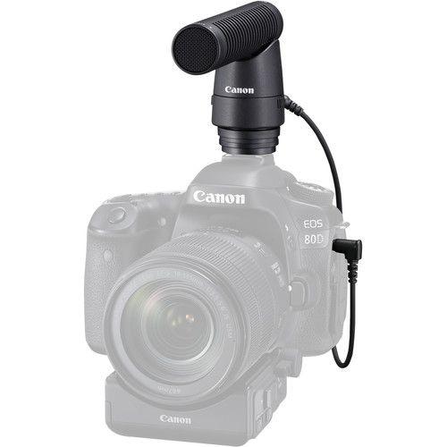 Microfone Canon DM-E1 Directional Stereo Microphone