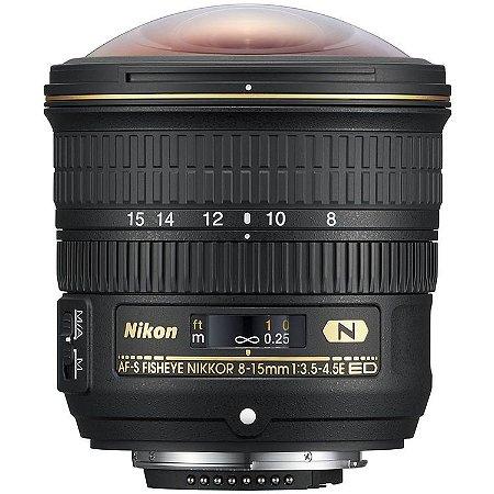 Lente Nikon AF-S Fisheye NIKKOR 8-15mm f/3.5-4.5E ED