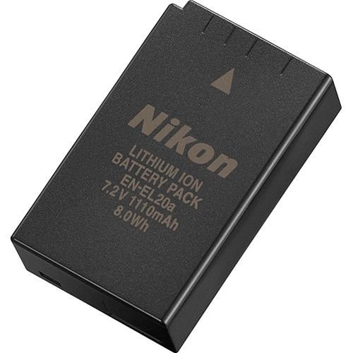 Bateria Nikon EN-EL20a para câmera Nikon COOLPIX P1000 / Nikon 1 V3