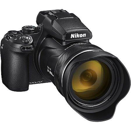 Câmera Nikon COOLPIX P1000 zoom ótico de 125x NIKKOR com Wi-Fi, RAW, 4K Ultra HD video