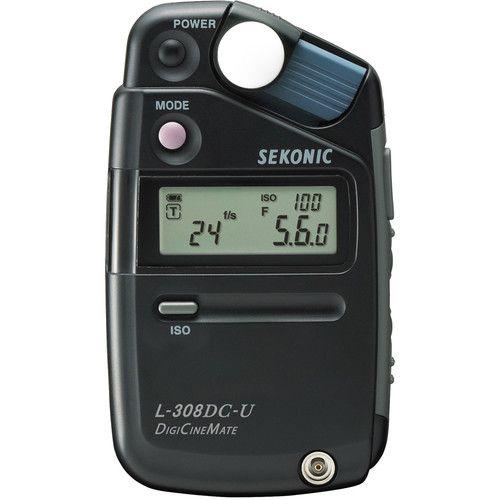 Fotômetro Medidor de Luz SEKONIC L-308DC-U DigiCineMate