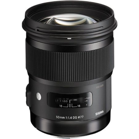 Lente Sigma 50mm f/1.4 DG HSM Art para Câmeras Canon EOS