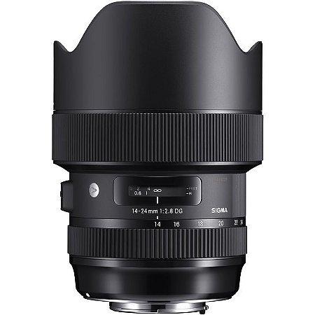 Lente Sigma 14-24mm f/2.8 DG HSM Art para câmeras Canon EOS