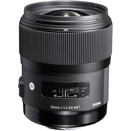 Lente Sigma 35mm f/1.4 DG HSM Art para câmeras Nikon