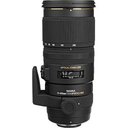 Lente Sigma APO 70-200mm f/2.8 EX DG OS HSM para câmeras Nikon