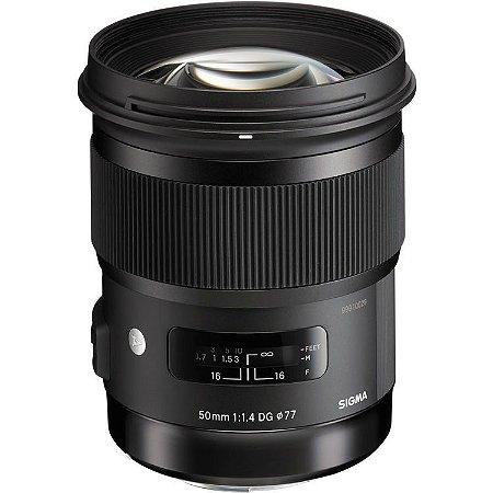 Lente Sigma 50mm f/1.4 DG HSM Art para câmeras Nikon