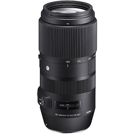 Lente Sigma 100-400mm f/5-6.3 DG OS HSM Contemporary para câmeras Nikon