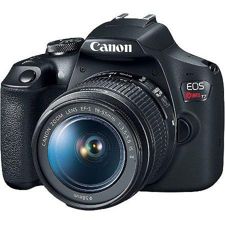 Câmera Canon EOS Rebel T7 Kit com Lente Canon EF-S 18-55mm