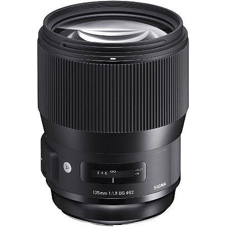 Lente Sigma 135mm f/1.8 DG HSM Art para câmeras Nikon
