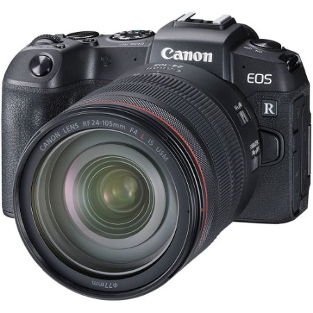 Câmera Canon EOS RP Mirrorless Kit com Lente Canon RF 24-105mm f/4L IS USM
