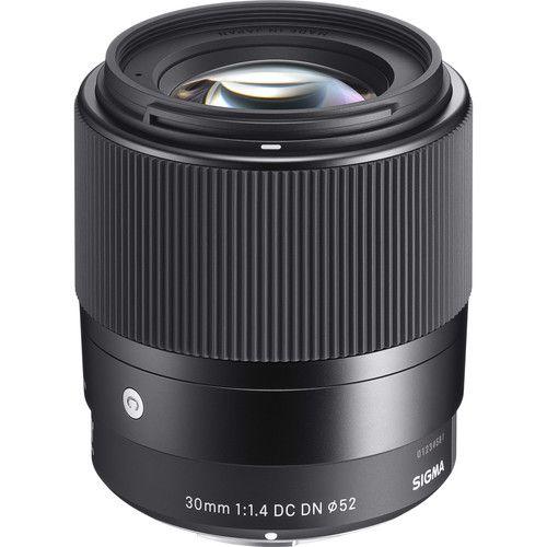 Lente Sigma 30mm f/1.4 DC DN Contemporary para Câmeras Sony E