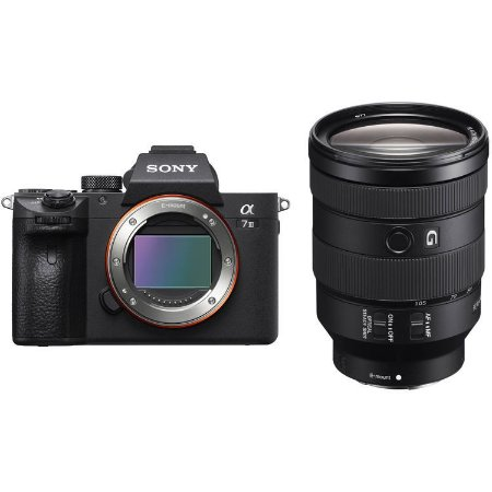 Câmera Sony Alpha a7 III Mirrorless Kit com Lente Sony FE 24-105mm f/4 G OSS