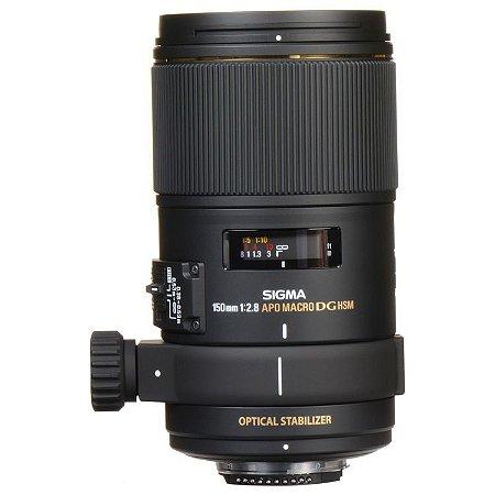 Lente Sigma APO Macro 150mm f/2.8 EX DG OS HSM para câmeras Canon EOS