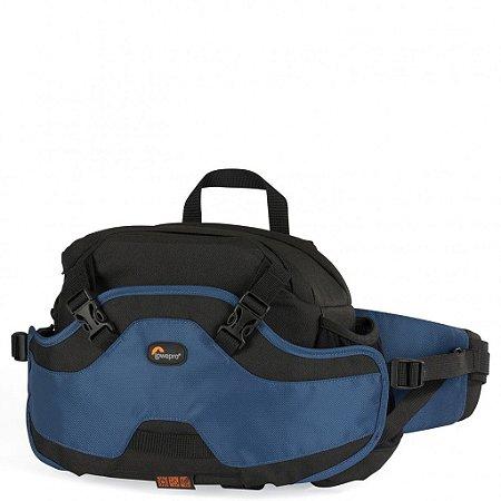 Bolsa Lowepro Inverse 100 AW (Azul) LP35234 para câmera com lente e acessórios
