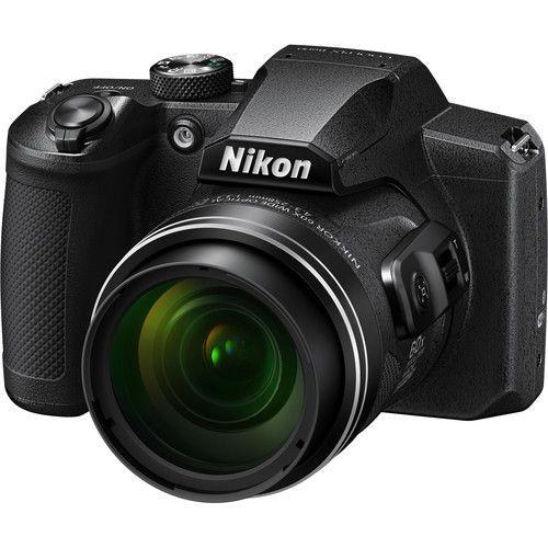 Câmera Nikon COOLPIX B600 zoom óptico de 60x NIKKOR Gravação de Vídeo Full HD + Wi-Fi e Bluetooth
