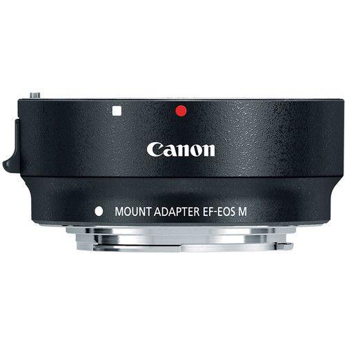 Adaptador Canon EF-M para Lentes Canon EF