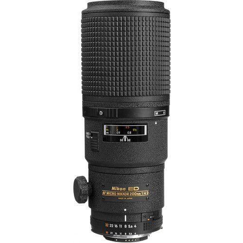 Lente Nikon AF Micro-NIKKOR 200mm f/4D IF-ED