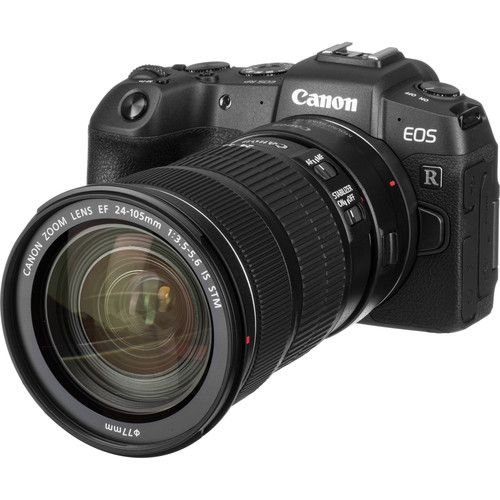 Câmera Canon EOS RP Mirrorless Kit com Lente Canon EF 24-105mm f/3.5-5.6 STM