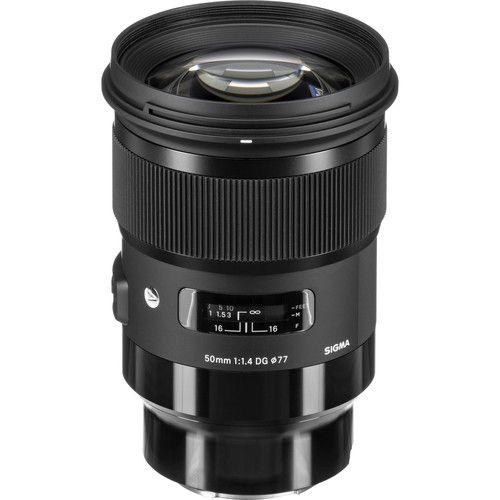 Lente Sigma 50mm f/1.4 DG HSM Art para Câmeras Sony E