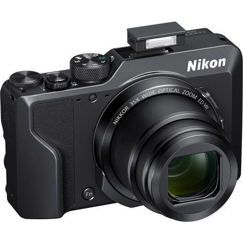 Câmera Nikon COOLPIX A1000 Zoom óptico de 35x NIKKOR, Filmagens 4K, BSI CMOS Sensor, Wi-Fi