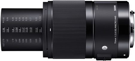 Lente Sigma 70mm f/2.8 DG Macro Art para Câmeras Sony E
