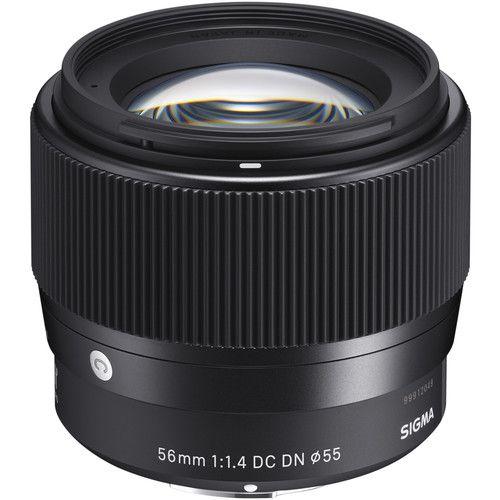 Lente Sigma 56mm f/1.4 DC DN Contemporary para câmeras Sony E