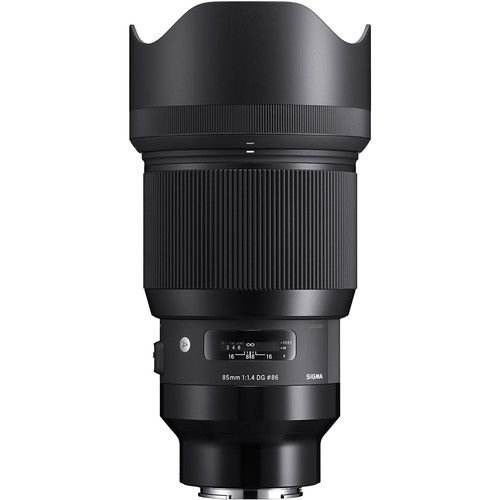 Lente Sigma 85mm f/1.4 DG HSM Art para câmeras Sony E