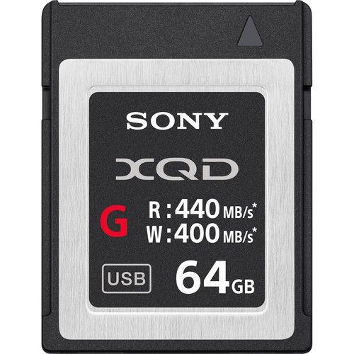 Cartão de Memória Sony 64GB XQD G Series 440MB/s
