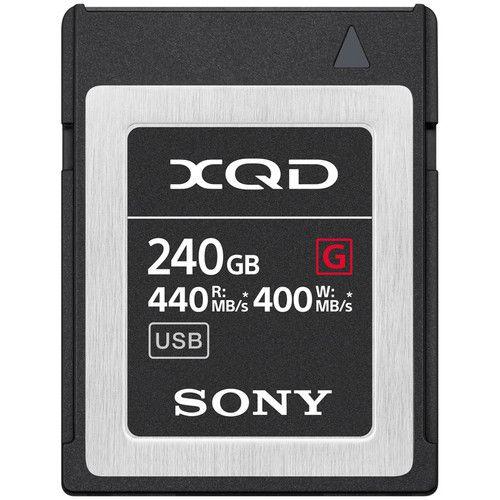 Cartão de Memória Sony 240GB XQD G Series