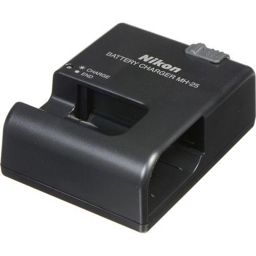 Carregador Nikon MH-25 para Bateria EN-EL15 câmera Nikon D7100 / D7200 / D500 / D610 / D750 / D850