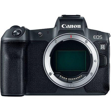 Câmera Canon EOS R Mirrorless Corpo com Adaptador Canon EF-EOS R