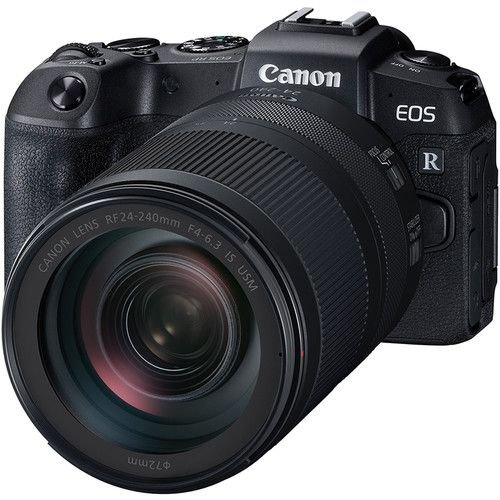 Câmera Canon EOS RP Mirrorless Kit com Lente Canon RF 24-240mm f/4-6.3 IS USM