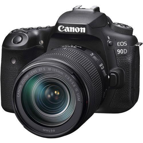 Câmera Canon EOS 90D Kit com Lente EF-S 18-135mm f/3.5-5.6 IS USM