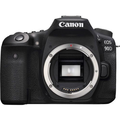 Câmera Canon EOS 90D Kit com Lente EF-S 18-55mm f/4-5.6 IS STM