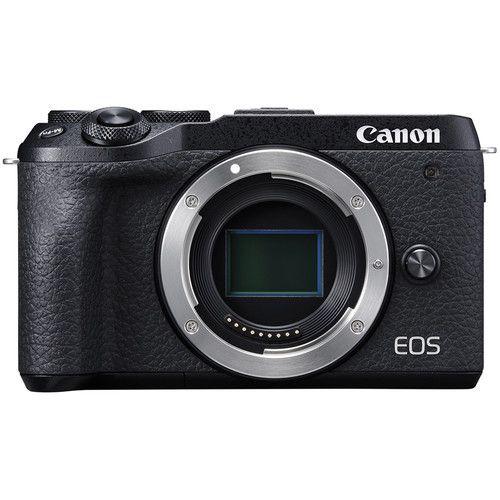 Câmera Canon EOS M6 Mark II Mirrorless Corpo