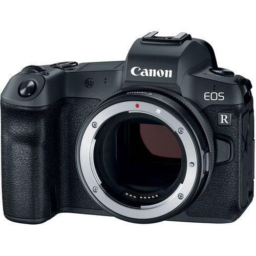 Câmera Canon EOS R Mirrorless Corpo com Adaptador Control Ring Mount EF-EOS R