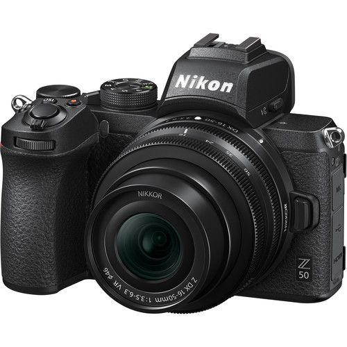 Câmera Nikon Nikon Z 50 Mirrorless Kit com Lente Nikon NIKKOR Z DX 16-50mm f/3.5-6.3 VR