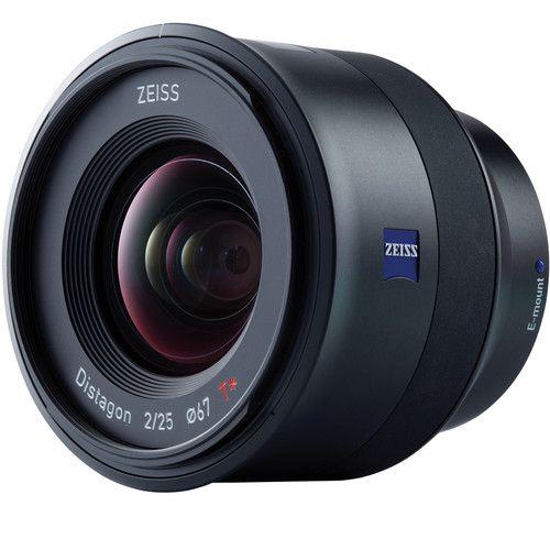 Lente ZEISS Batis 25mm f/2 para câmeras Sony E