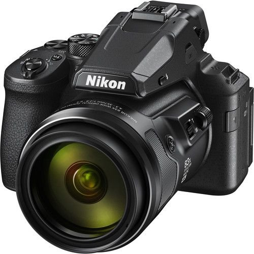 Câmera Nikon COOLPIX P950 zoom ótico de 83x NIKKOR com Wi-Fi, RAW 4K Ultra HD video