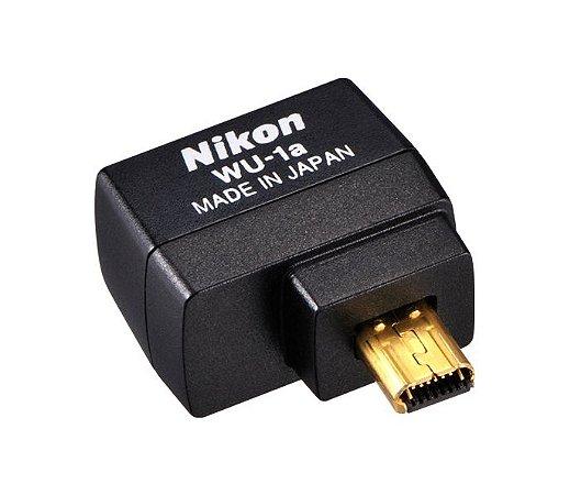 Adaptador Móvel Sem Fio Nikon WU-1a para câmeras Nikon D3200 / D3300 / D5200 / D7100 / P520 / P530 e outras