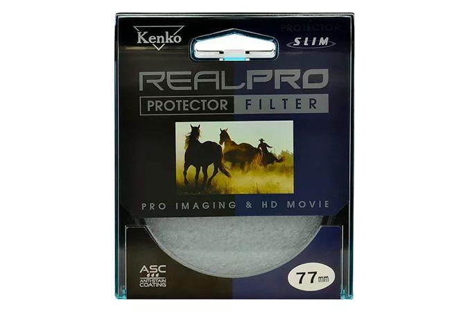 Filtro KENKO 77mm REAL PRO PROTECTOR FILTER Slim Frame