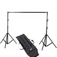 Suporte YS-505 para Fundo de Estúdio Fotográfico 3m Largura x 3m Altura e Bolsa de Transporte