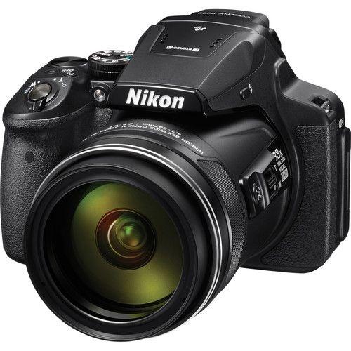 Câmera Nikon COOLPIX P900 zoom ótico de 83x NIKKOR Super ED VR com Wi-Fi, NFC e GPS
