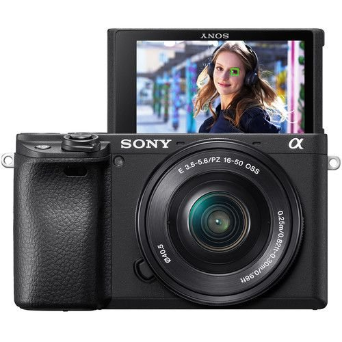 Câmera Sony Alpha a6400 Mirrorless Kit com Lente Sony E PZ 16-50mm f/3.5-5.6 OSS